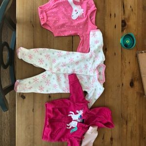 Baby clothes Minnie Mouse, unicorn princess, angel